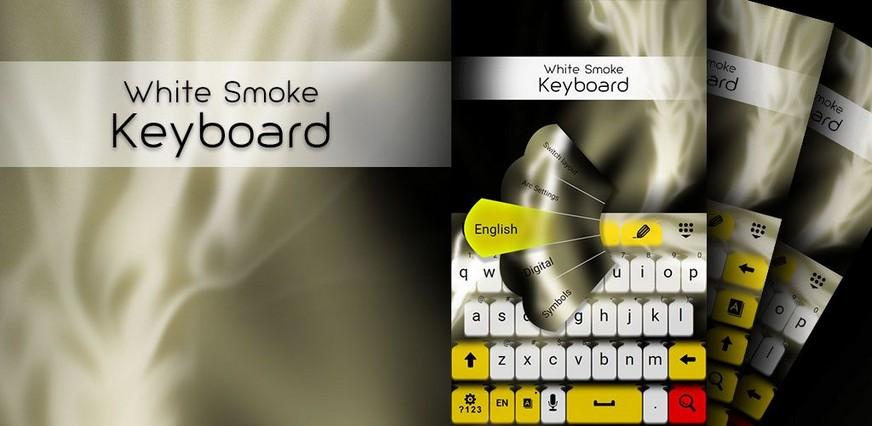 White Smoke Keyboard