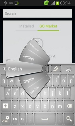 Qwerty Keyboard Skin