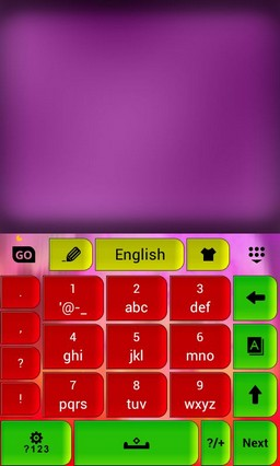 Keypad Color Skin