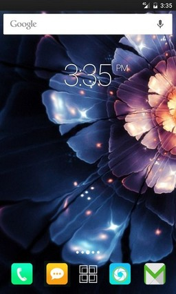 Abstract flower ADW Launcher Theme