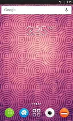 Retro wallpaper pink Nova Launcher Theme