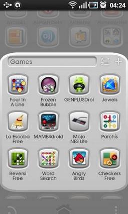 Grey Button GO Launcher Theme 1.0.1