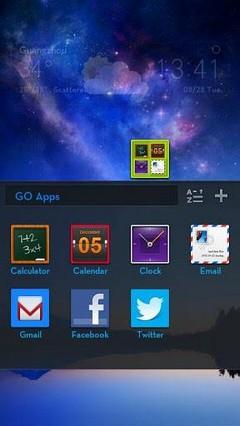 Aurora GO LauncherEX Theme