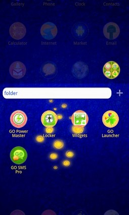 PinkForest - GO Launcher Theme