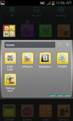 Color Go Launcher EX Theme