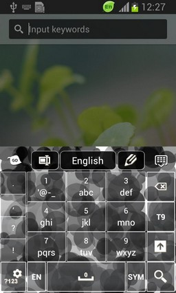 Black Dots Keyboard-release