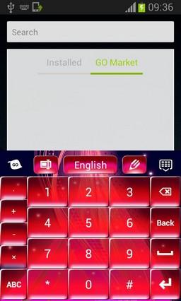 Pink Fire Keyboard-release