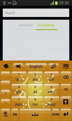 Keyboard with Smiley Faces-release