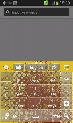 Grunge Abstract Keyboard-release