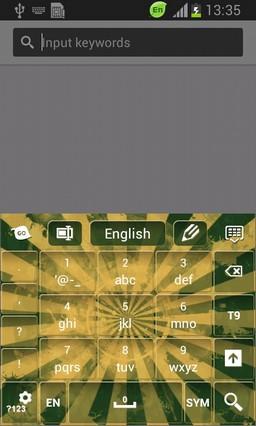 Grunge Sunburst Keyboard-release
