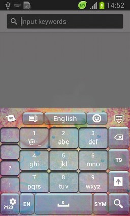Colorful Sphere Keyboard-release