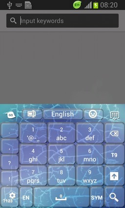 Cracked Screen Keyboard-release