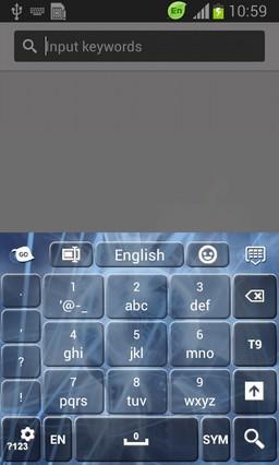 Abstract Sci-Fi Keyboard-release
