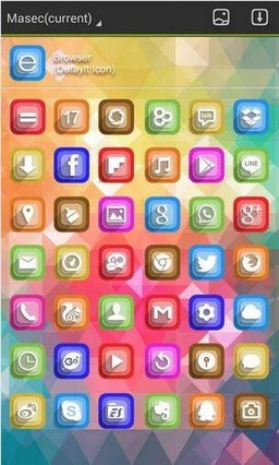 Brilliant Colors GO Theme