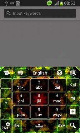 Abstract Kaleidoscope Keyboard