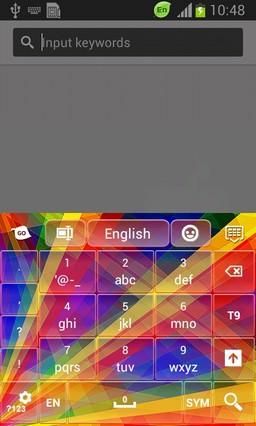Abstract Rainbow Keyboard