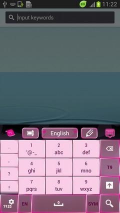 Keyboard in Pink