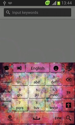 Color Space Keyboard
