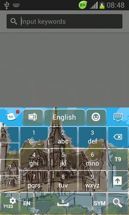 Color Keyboard for Galaxy Note