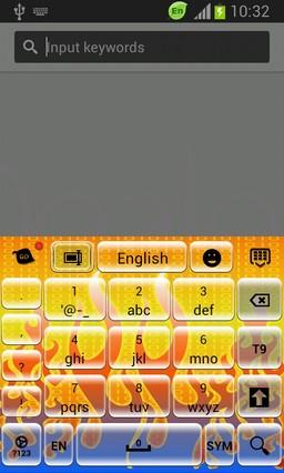 Digital Fire Keyboard