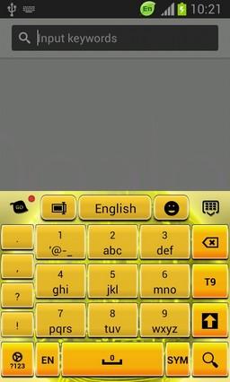 Golden Sphere Keyboard