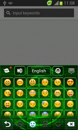 Neon Keyboard for Galaxy Note2