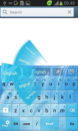 Waterfall GO Keyboard Theme