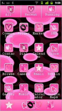 pink circles