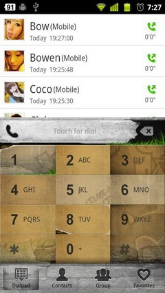 Graffiti GO Contacts Theme 3.0.0
