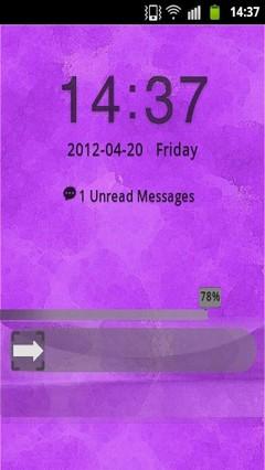 GO Locker Theme Purple Light