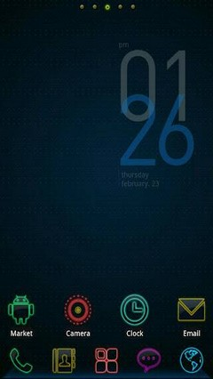 Colorful Life GO Launcher Theme 1.0