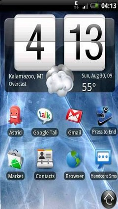 Android Weather & Toggle Widget