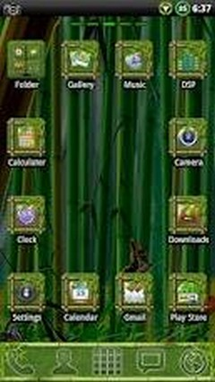 Bamboo Go Launcher Ex