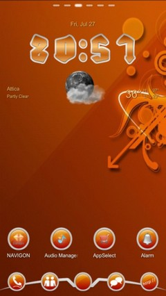 SiOR Go Launcher Theme