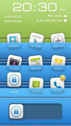 iLike GO Locker Theme v1.03
