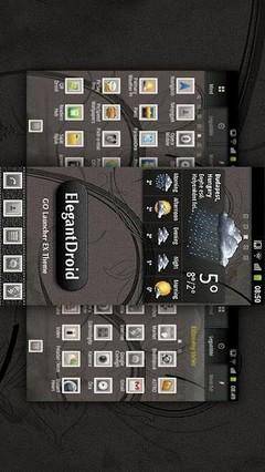 ElegantDroid GO Launcher Theme