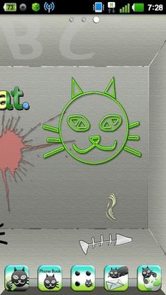 Odd Cat HD Theme GO Launcher EX 1.1