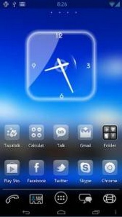 Hybrid Ics Theme Go launcher 4.7