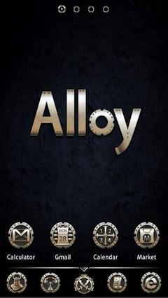 Alloy GOLauncherEX Theme