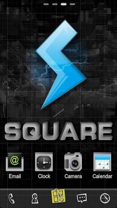 Square GO LauncherEX Theme