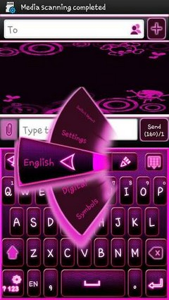 go keyboard emo punk theme