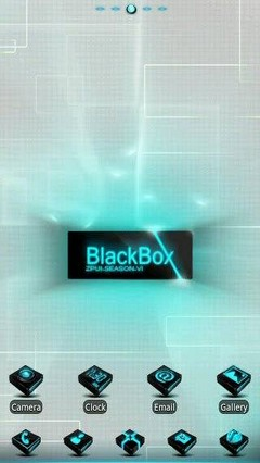 Go Launcher Black Box