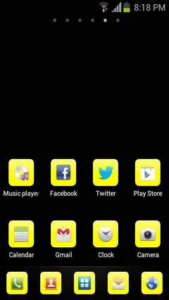 Yellow basics go theme