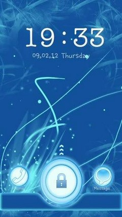 Blue Chill Go Locker Theme