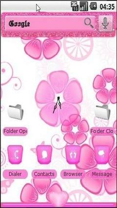 Spirited Pink Pandahome Theme