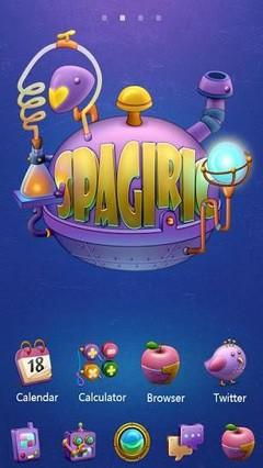 Spagiric - GO Launcher Theme
