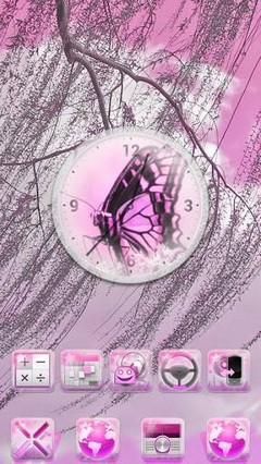 Pink Summer GO Launcher