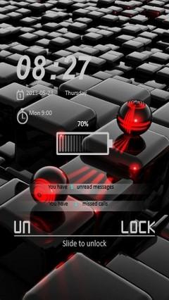 Cubes & Spheres Locker