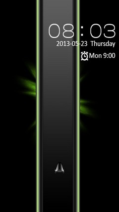 Black & Green Design Locker