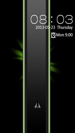 Black & Green Design Locker